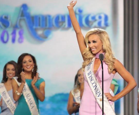 Miss Wisconsin 2017 McKenna Collins was Miss Wisconsin 2017.