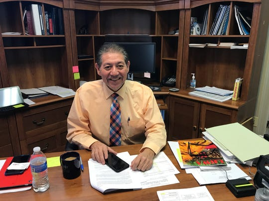 Sterlington Mayor Caesar Velasquez is approaching his first year in office with optimism and encourages anyone who wants to know more about the town to come talk to him.