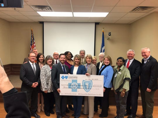On Jan. 30, representatives from Workforce Development Board 83 joined Monroe-area officials to announce a $300,000 grant from the Blue Cross and Blue Shield of Louisiana Foundation to address the nursing shortage in Northeast Louisiana.