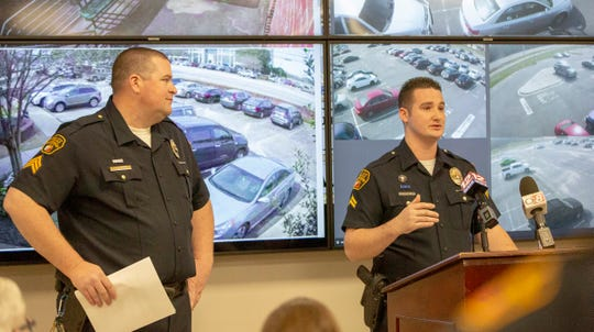 Montgomery police Cpl. Donald Lowe and Sgt. Alan Burr, two officers overseeing the center, talk about how STAR Watch will better protect the city and expedite arrests.