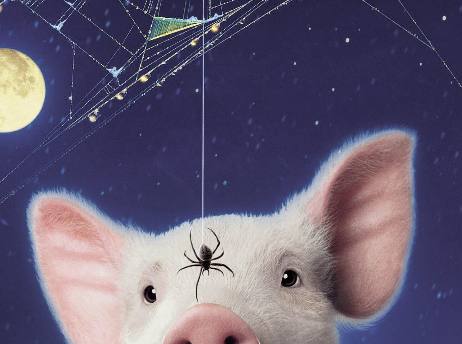 """Model for Wilbur the Pig on the cover of the re-release of """"Charlotte's Web"""" spent his life on a farm in Murfreesboro."""