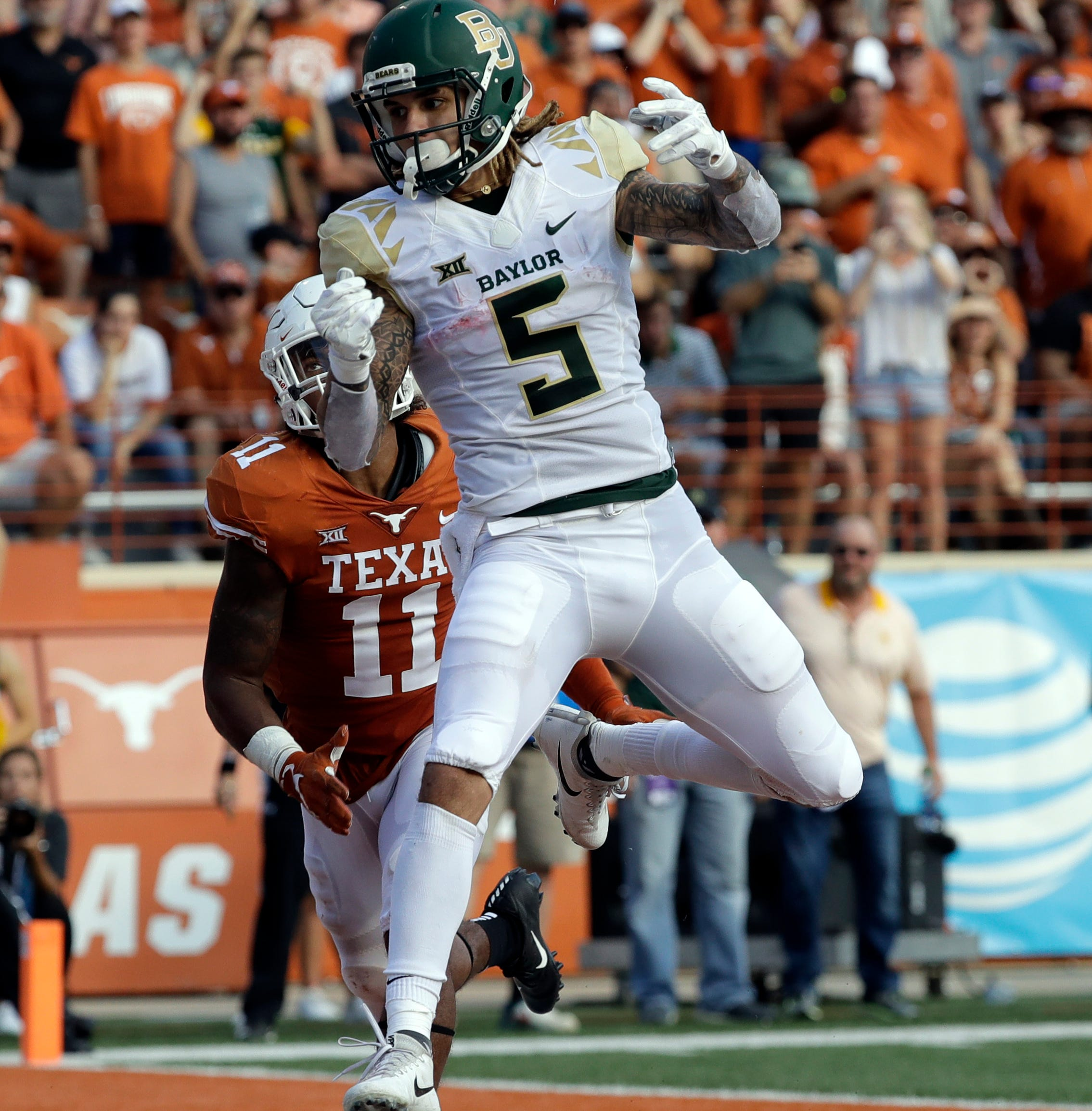 At NFL combine, Baylor WR Jalen Hurd has explaining to do — including why he left Vols