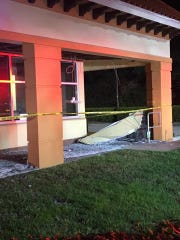 No one was injured in a partial ceiling collapse at the Chase Bank, 5939  Pine Ridge Road, near Golden Gate that occurred around 7 p.m. on Jan. 31, 2019.