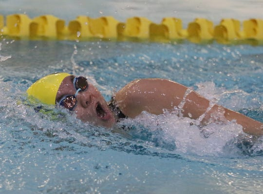 Maddy Liu of Indian Hills in the Girls 200 Yard Individual Medley.