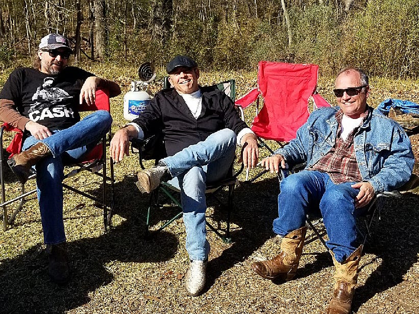 songwriters retreat held recently at Chicot State Park