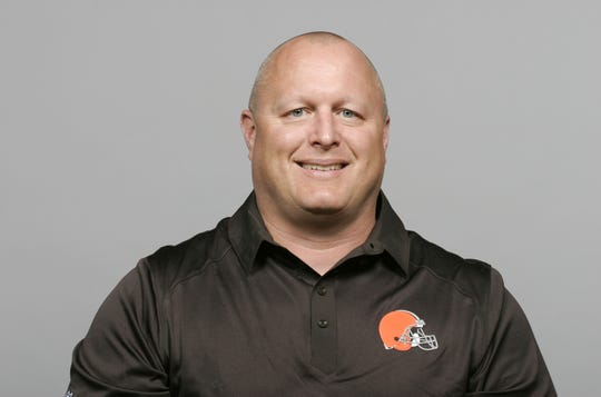 Former Browns assistant Shawn Mennenga is the Packers' new special teams coordinator. (AP Photo)