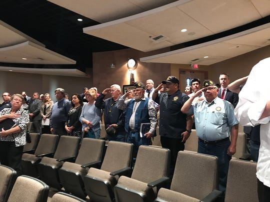 The results of a survey assessing veteran services in Riverside County were presented in Rancho Mirage on Thursday, Jan. 31, 2019.