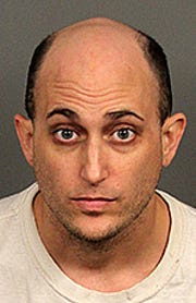 Ryan Alkana was arrested Jan. 31 for the attempted murder of a woman in Palm Desert.