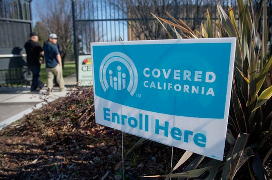 Covered California is the state's health insurance marketplace.