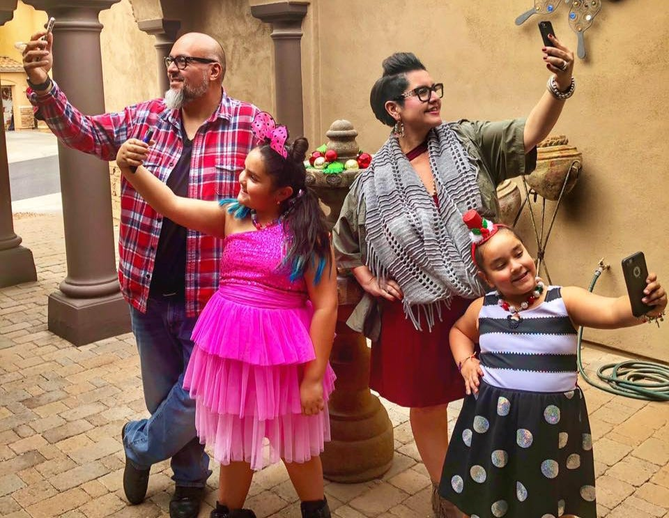 Eight-year-old Dolcé Contreras, with the help of her family, makes music videos to sell Girl Scout cookies.