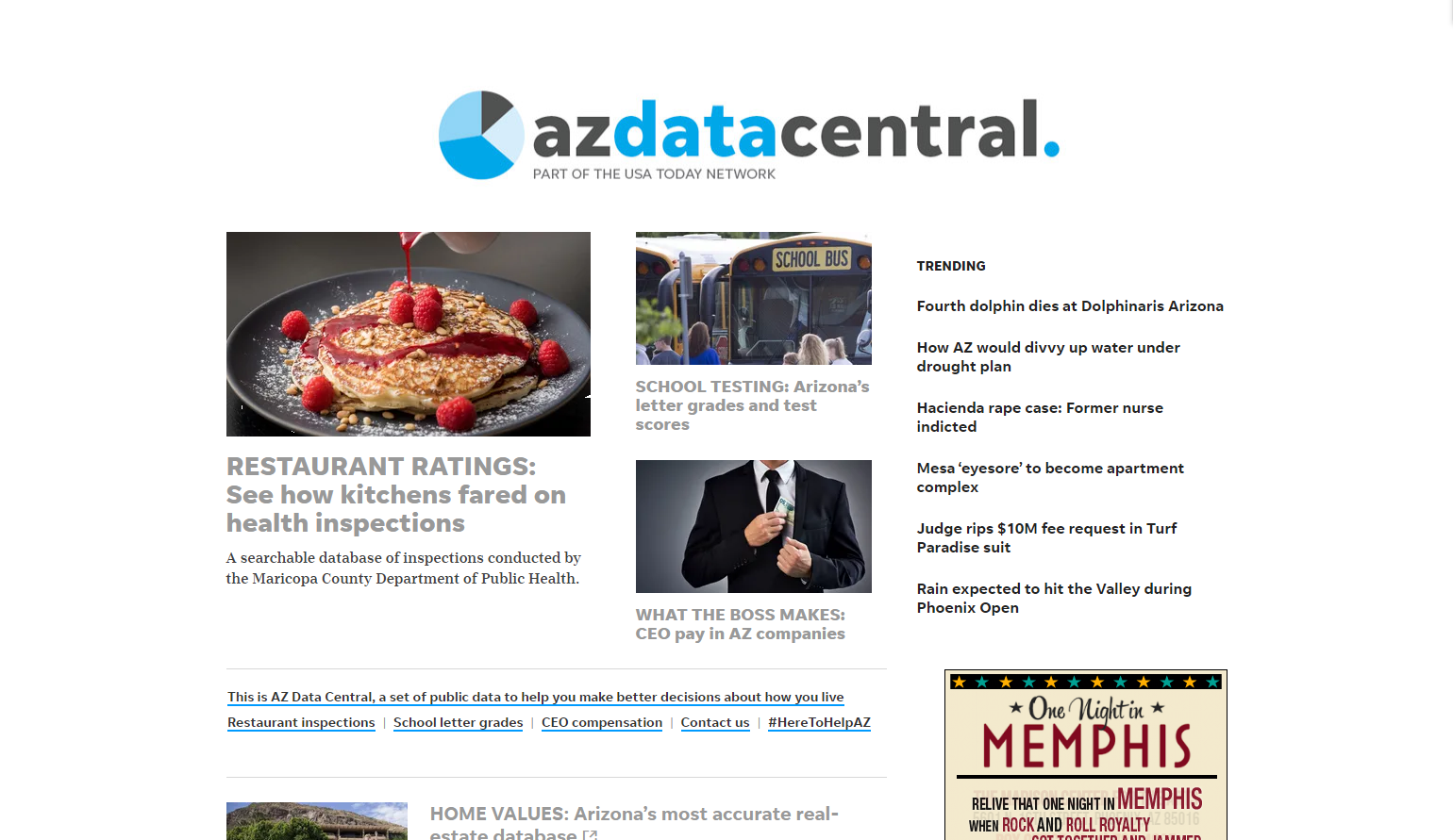AZ Data Central: A wealth of information to help you make better decisions about life