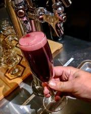 Superstition Meadery in Prescott makes Blueberry Spaceship Box, an award-winning hard cider.