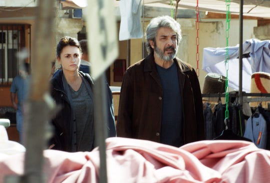 "Alejandro (Ricardo Darín) and Laura (Penélope Cruz) search for answers in ""Everybody Knows."""