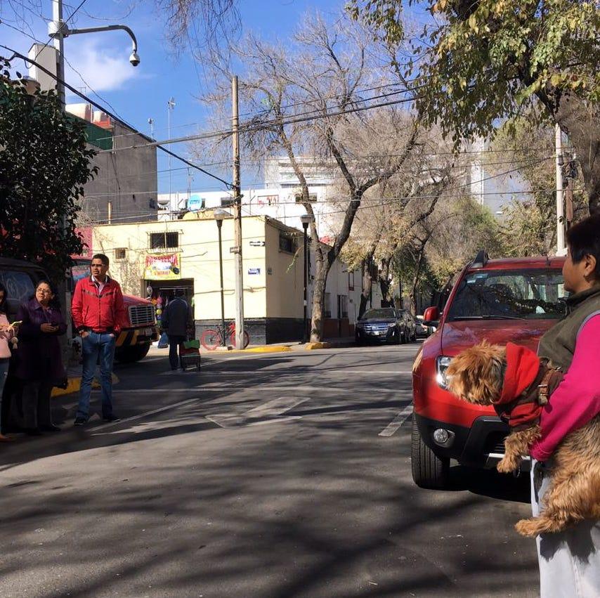 Sismo en Chiapas remece edificios en la Ciudad de México