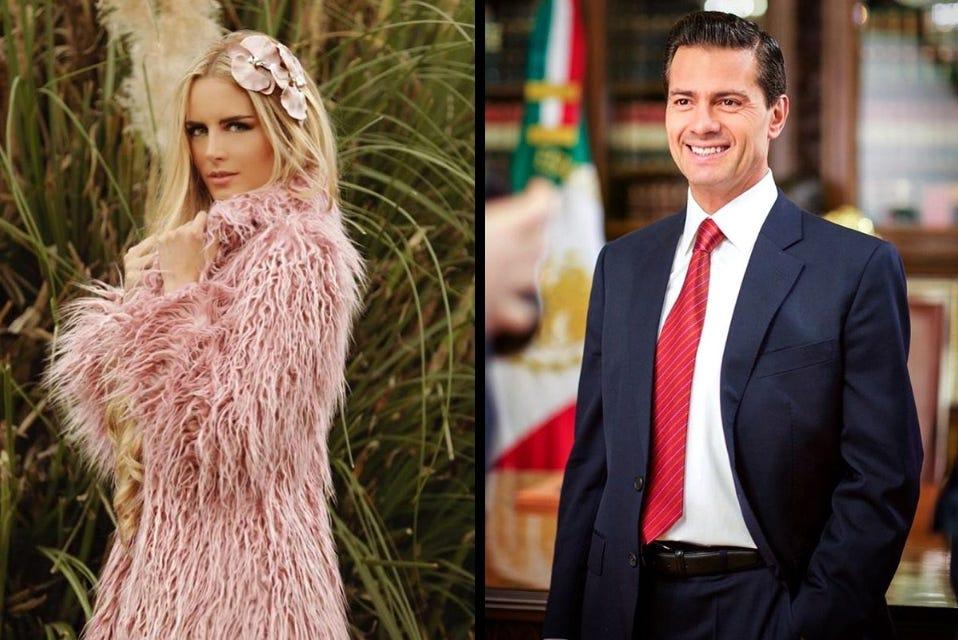 La modelo Tania Ruiz Eichelmann y ex mandatario Enrique Peña Nieto fueron vistos juntos en Madrid.