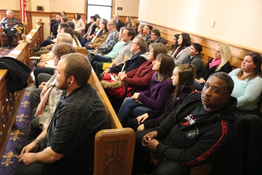Ottawa County's Drug Addiction Treatment Alliance Program celebrated the graduation of Kylie Zunk and Sean Barnett with a courtroom packed full of the people that helped them get there.