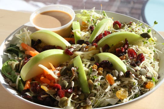 The Morning Star salad from Veggie Go-Go in Wappingers Falls on January 31, 2019.