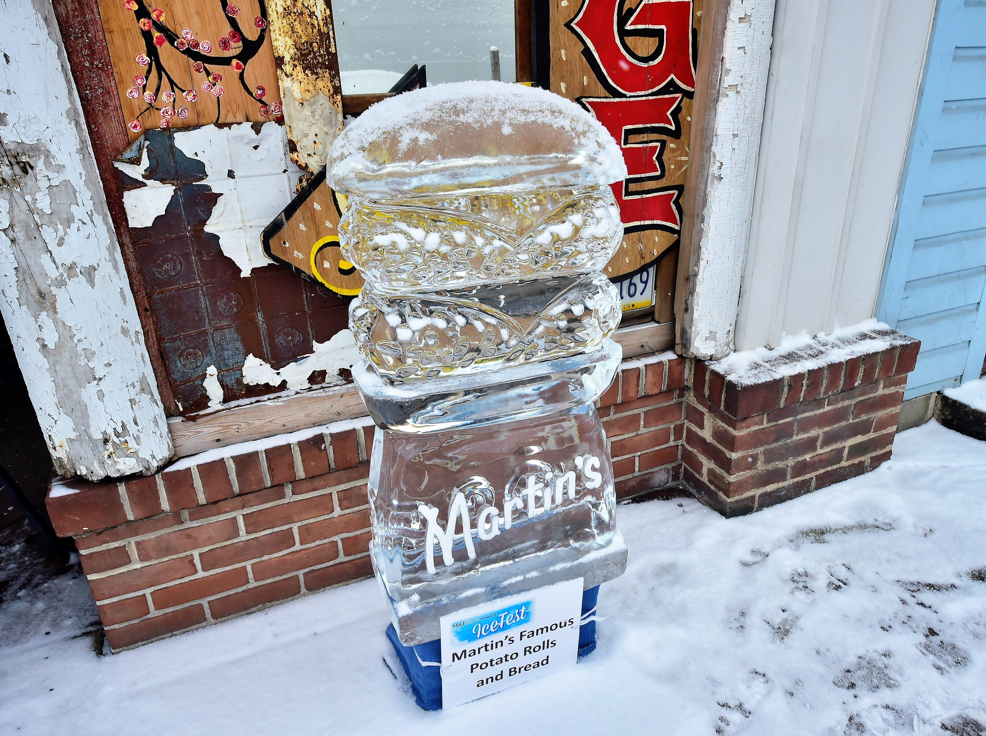 DiMartino Ice Company carved around 80 ice sculptures for IceFest 2019 in Chambersburg. Here is a small fraction of them. All of the sculptures pictured in this gallery are located on South Main Street between the square and Washington Street.