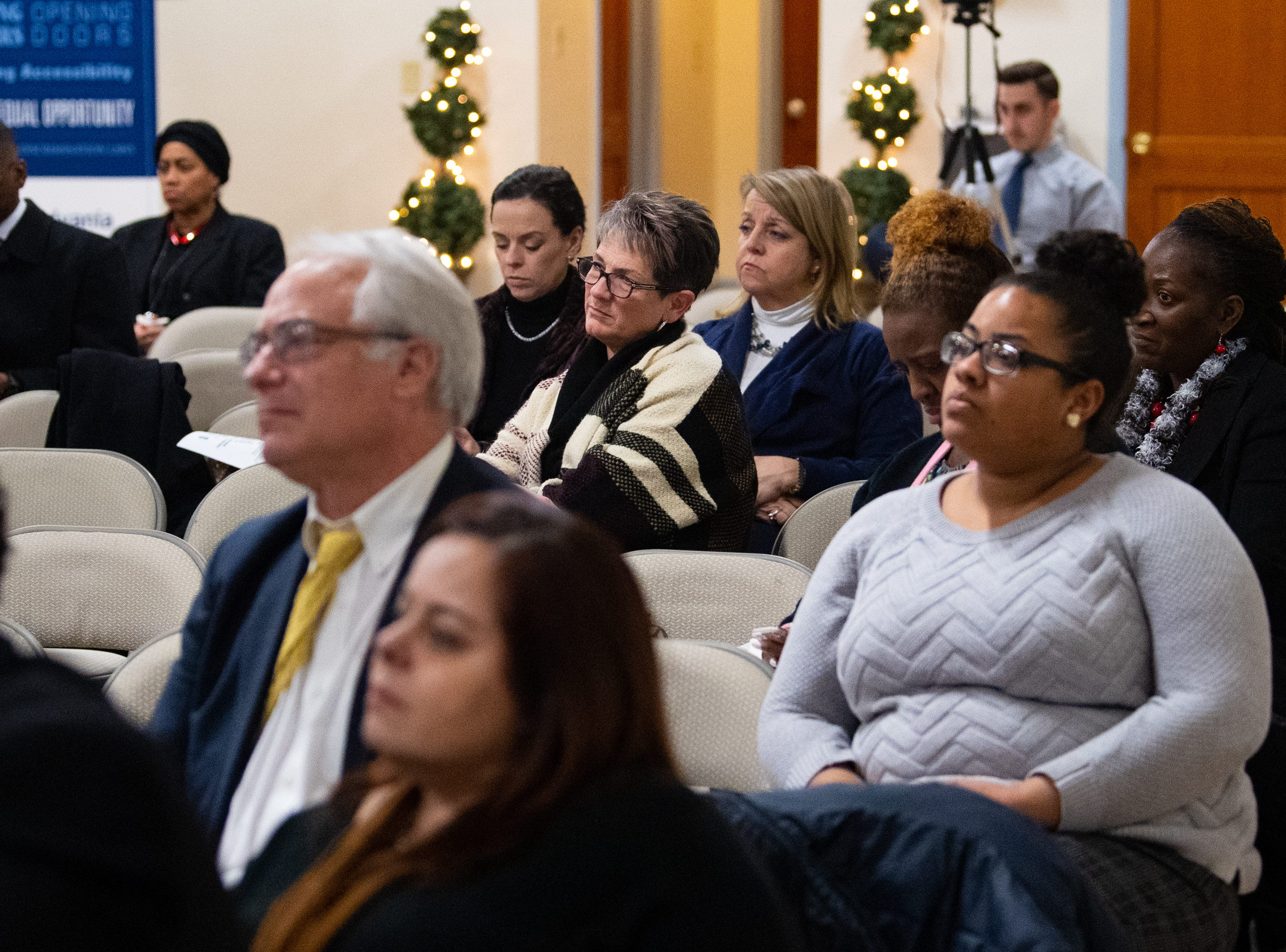 "Many citizens from around York County came out to listen to what the expert panel had to say during the ""No Hate in Our State"" Town Hall meeting, January 31, 2019."