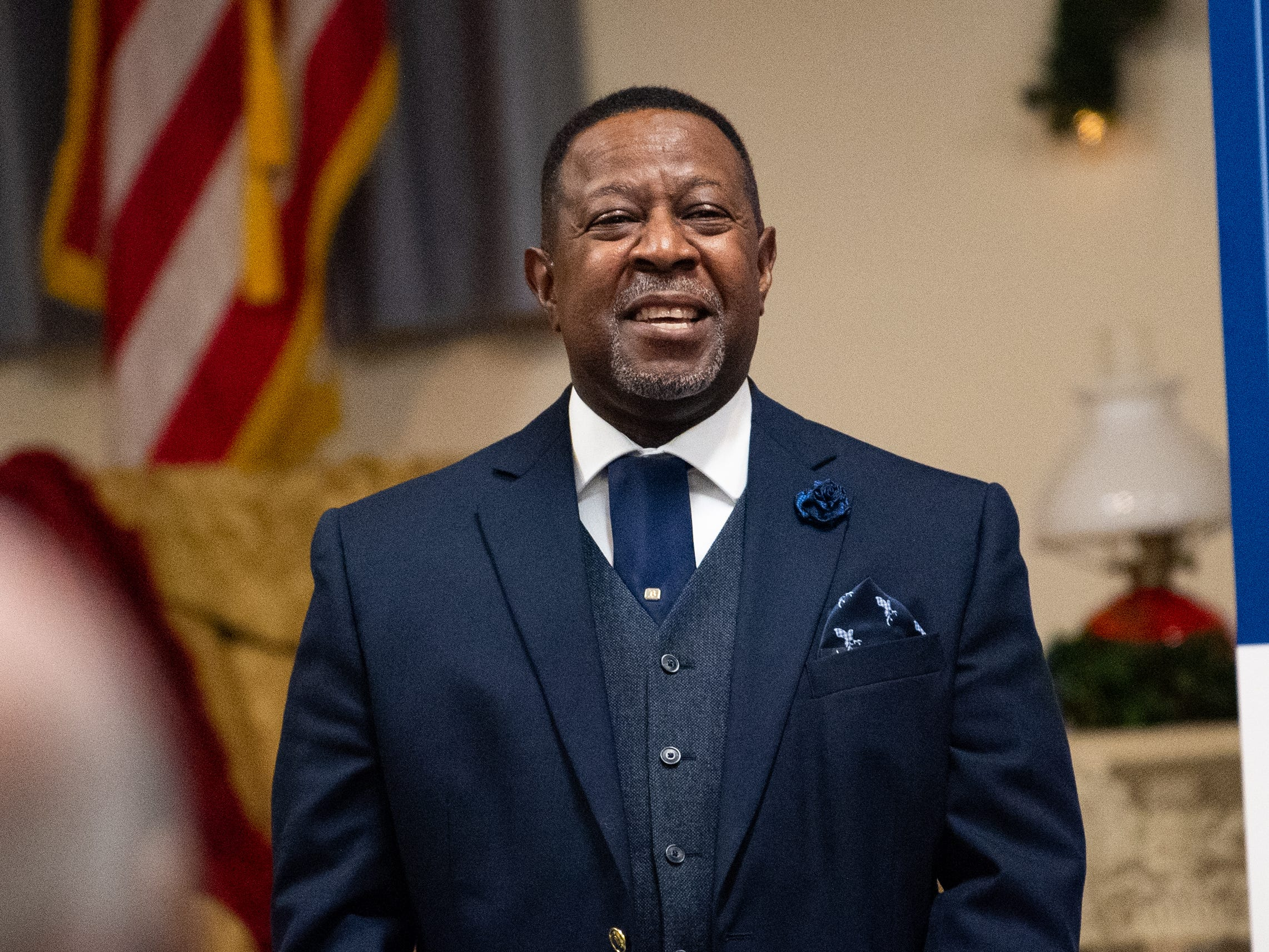 Reverend Dr. Melvin Baber of Friendship Baptist Church talks about the many forms of racism that people of color endure daily, January 31, 2019.