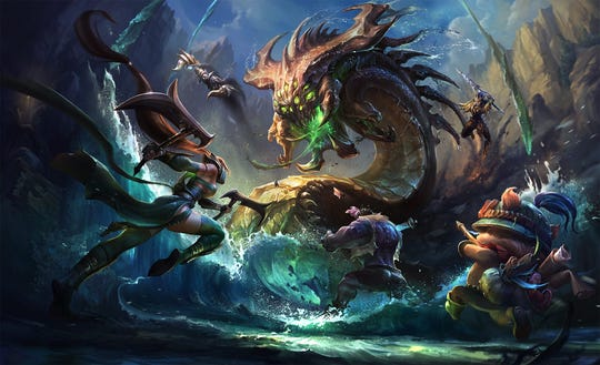 League of Legends by Riot Games.