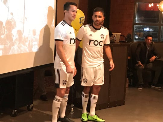 The Reno 1868 FC away kits.
