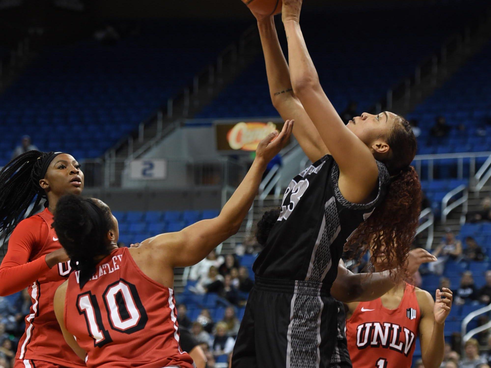 Photos of Nevada Women defeating UNLV