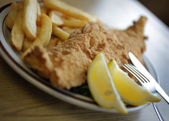 The fish fry at Parkside Diner in Irondequoit, N.Y. in 2010.