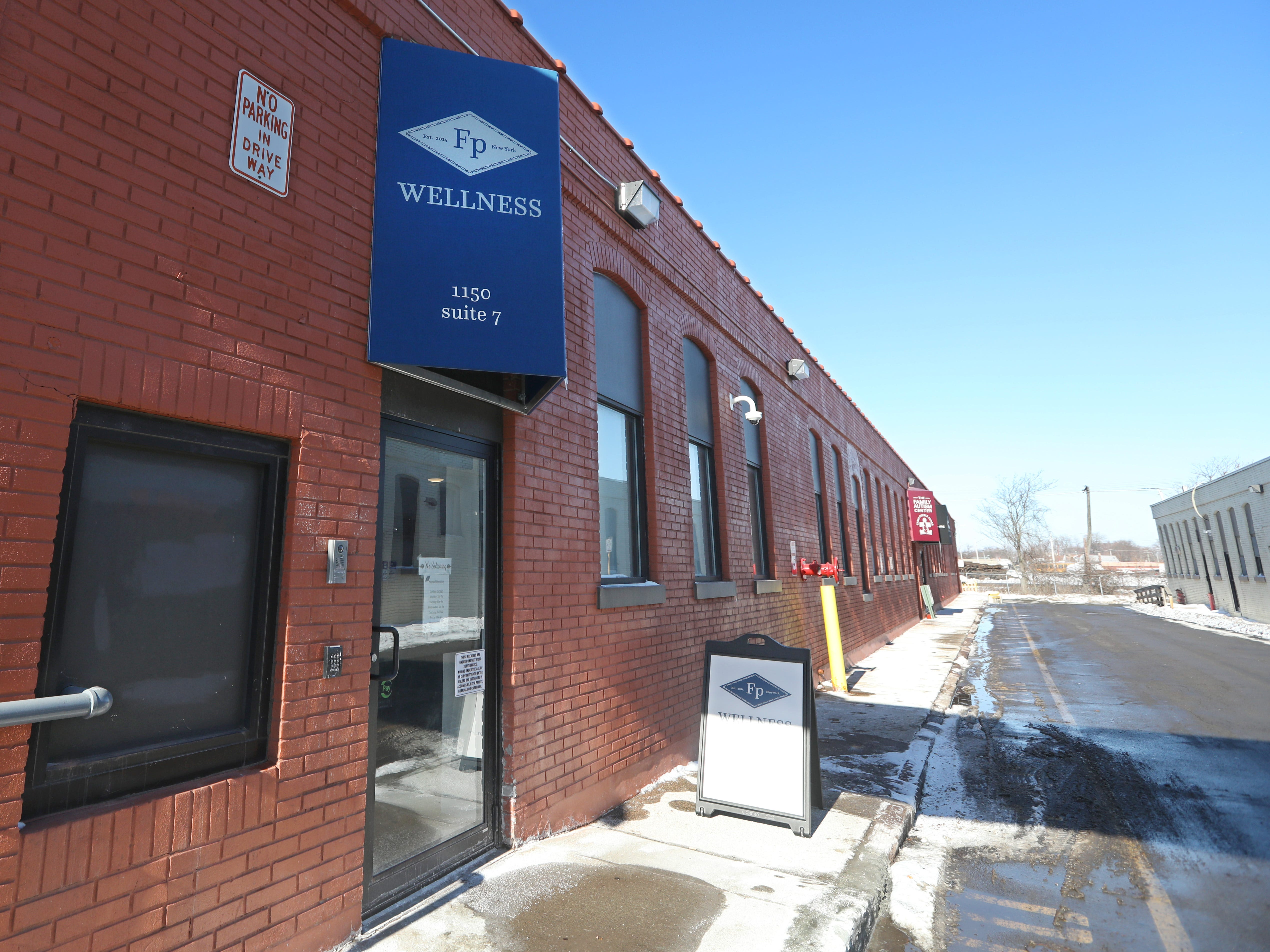 Fiorello Pharmaceuticals, a new marijuana dispensary in Rochester, is located at 1150 University Avenue, Building 5 Suite 7, Friday, Feb. 1, 2019.