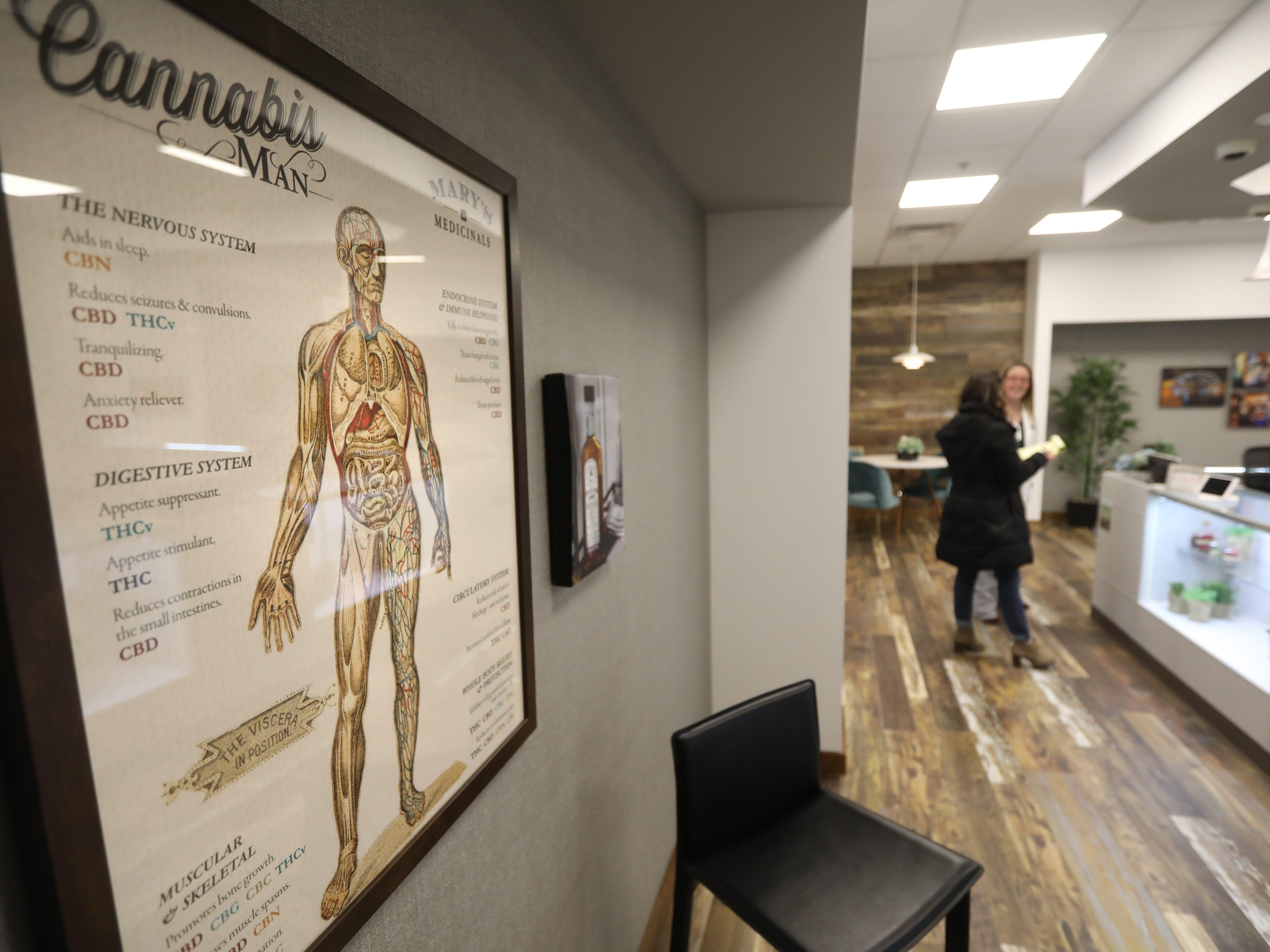 Inside Fp Wellness Rochester, a new marijuana dispensary in Rochester.