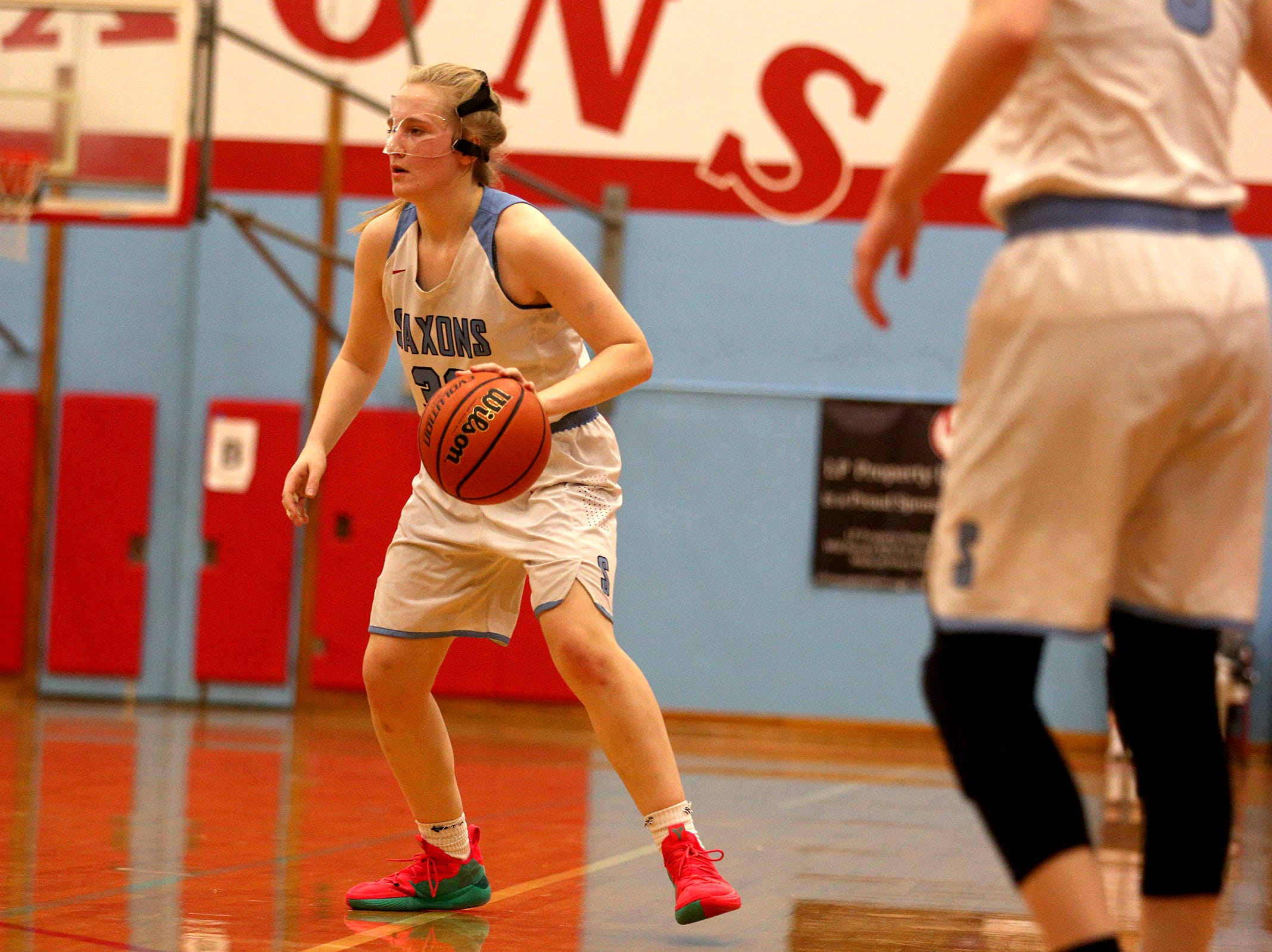 McNary's Gretchen Olsen (30) during the South Salem High School girls basketball game against McNary High School in Salem on Thursday, Jan. 31, 2019.