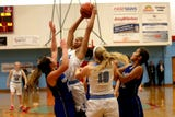 South Salem's girls basketball team beat McNary High School at home on Thursday, Jan. 31, 2019.