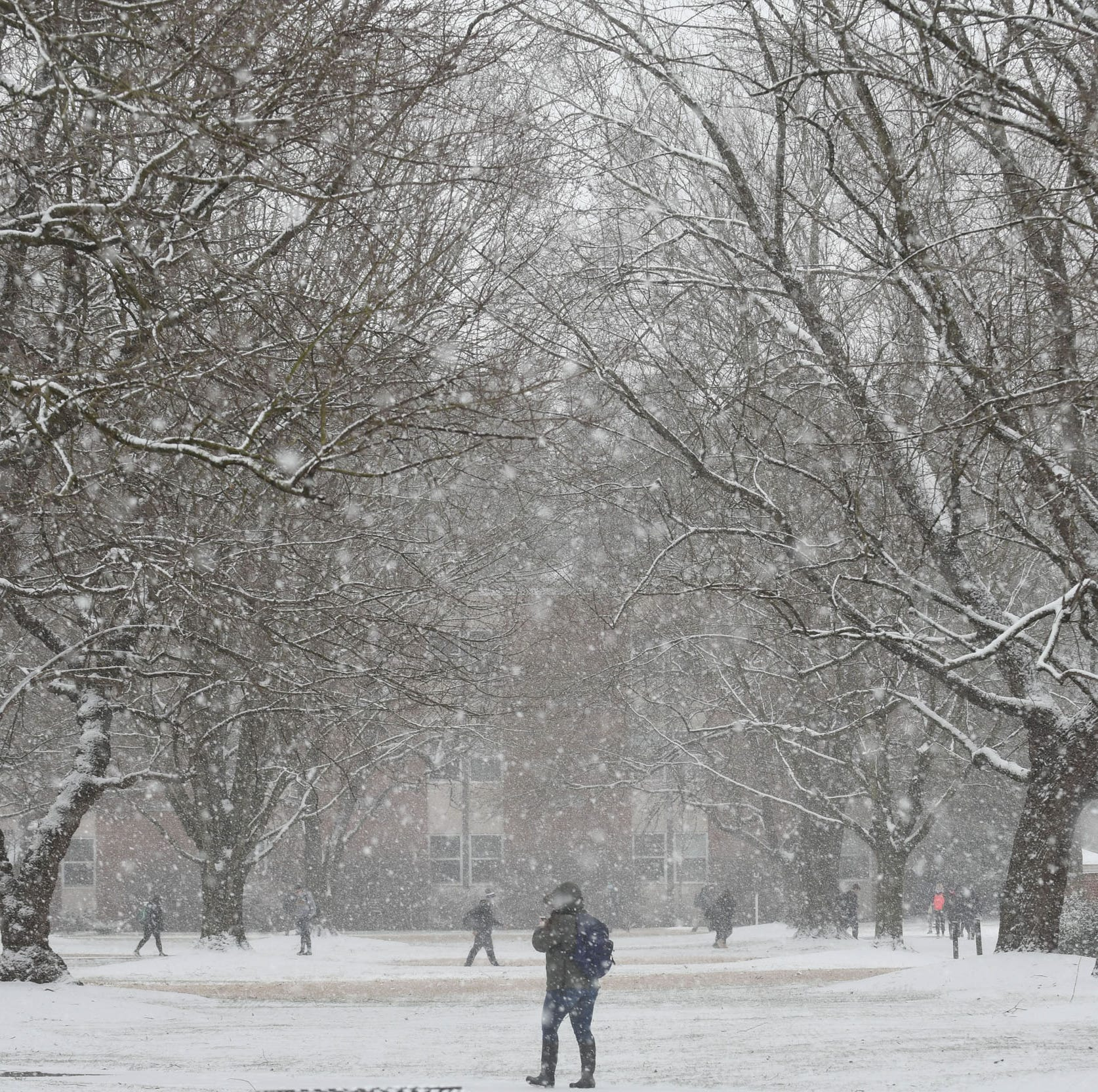 Snow, freezing rain expected in parts of Maryland overnight