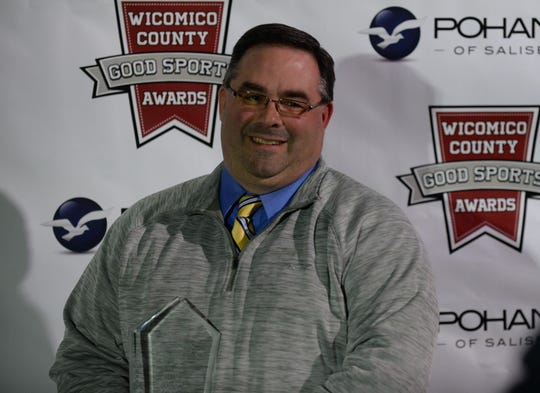 Bill Pettitt of Upward Sports was named the Official of the Year at the Good Sports Awards on Thursday, Jan. 31, 2019.