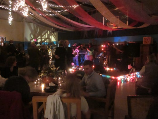 The Swine and Wine fundraiser for the Boys and Grils Club was held Saturday, Dec. 3, 2011 at Central Green in Painter.