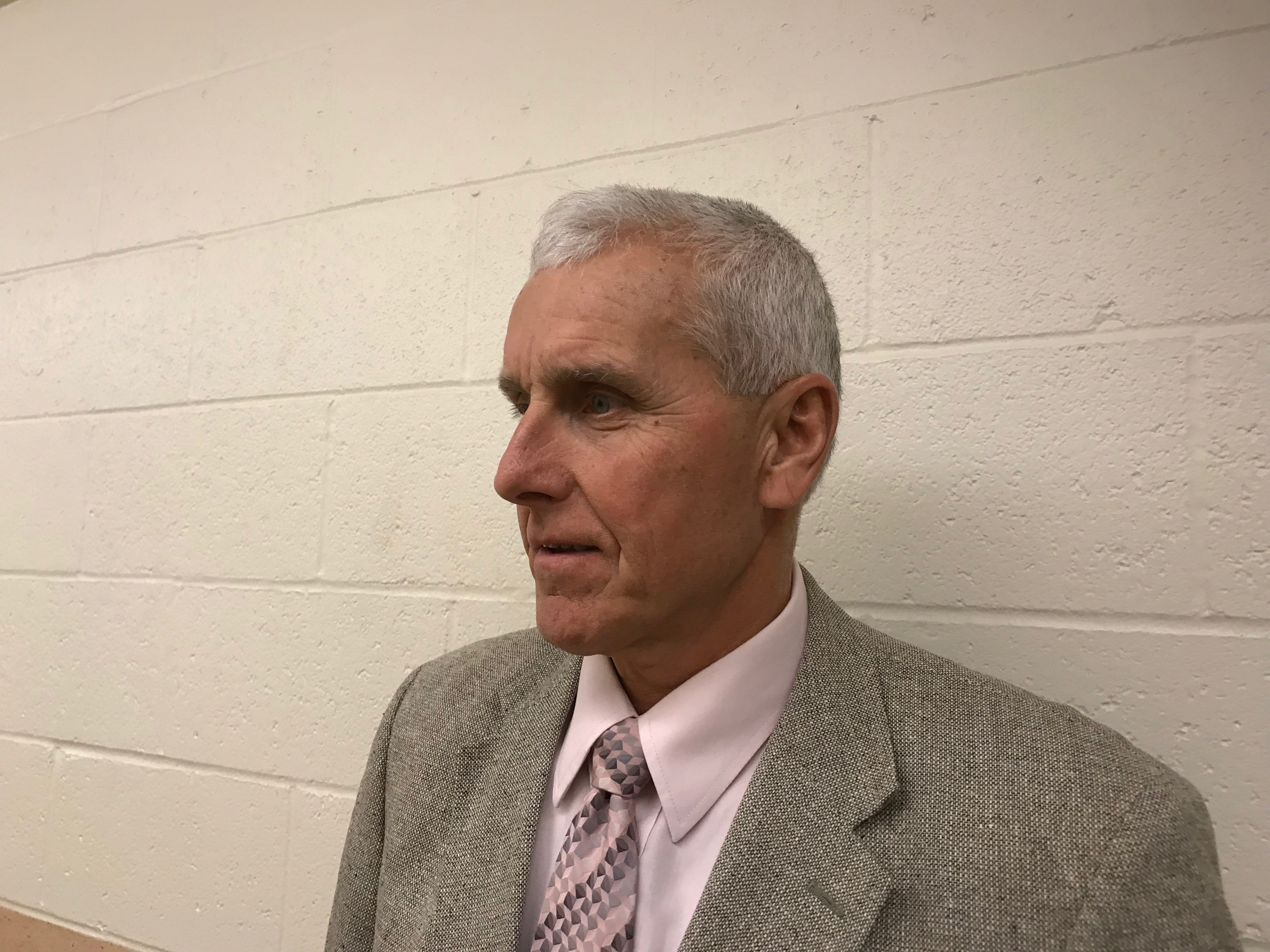 Accomack County Supervisor Billy Joe Tarr of Chincoteague