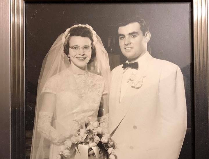 Max and Kathryn Muehlberger, married April 1951, at Holy Name Parish in Sheboygan.   The pair met at Central High School in Sheboygan and both graduated in 1949.