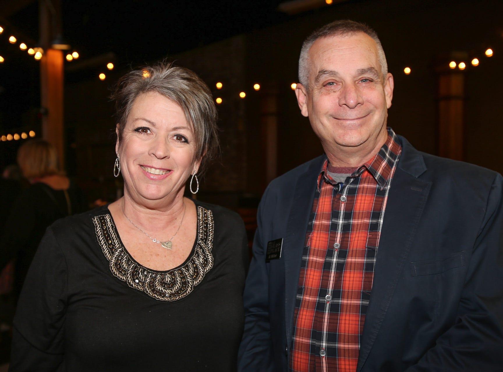 Cheryl Mitchell and Al Miller
