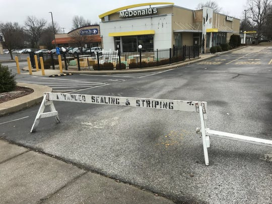 This McDonald's on West Sunshine Street, near Campbell Avenue, has been closed since a July 7 fire.