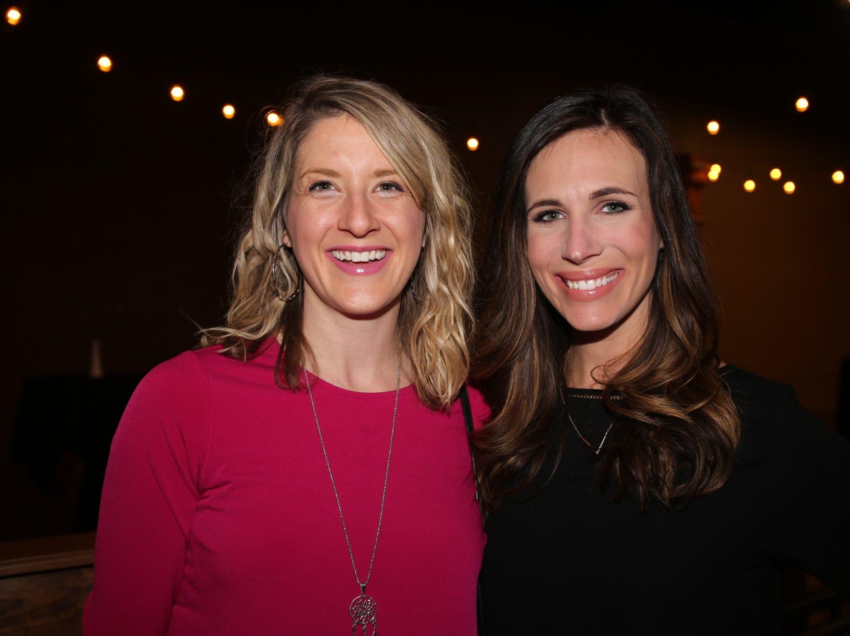 Melanie Setser and Cassie Sickman