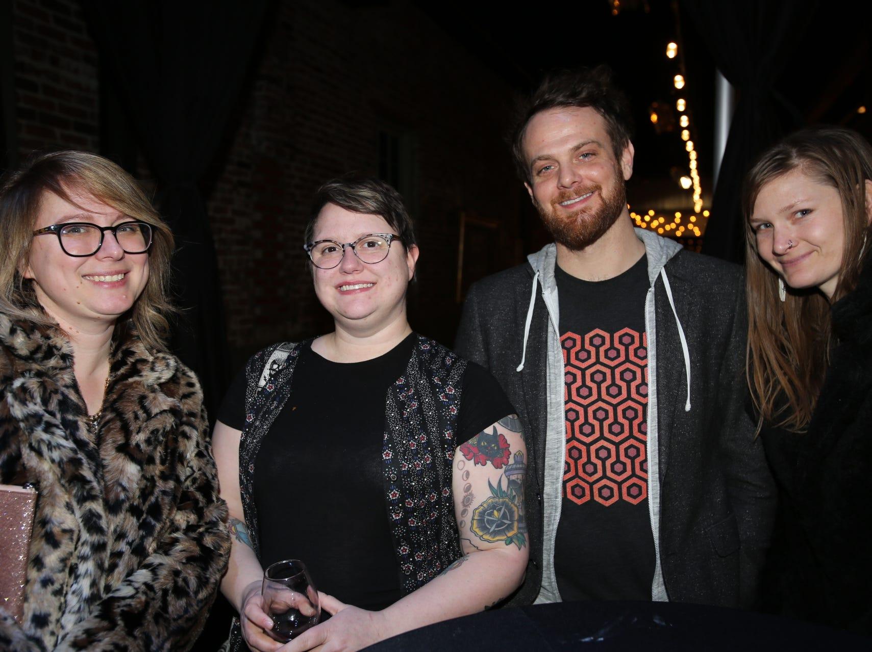 Nicole Chilton, Rachel Johnson, Tyler Drenon, and Anne Dezort