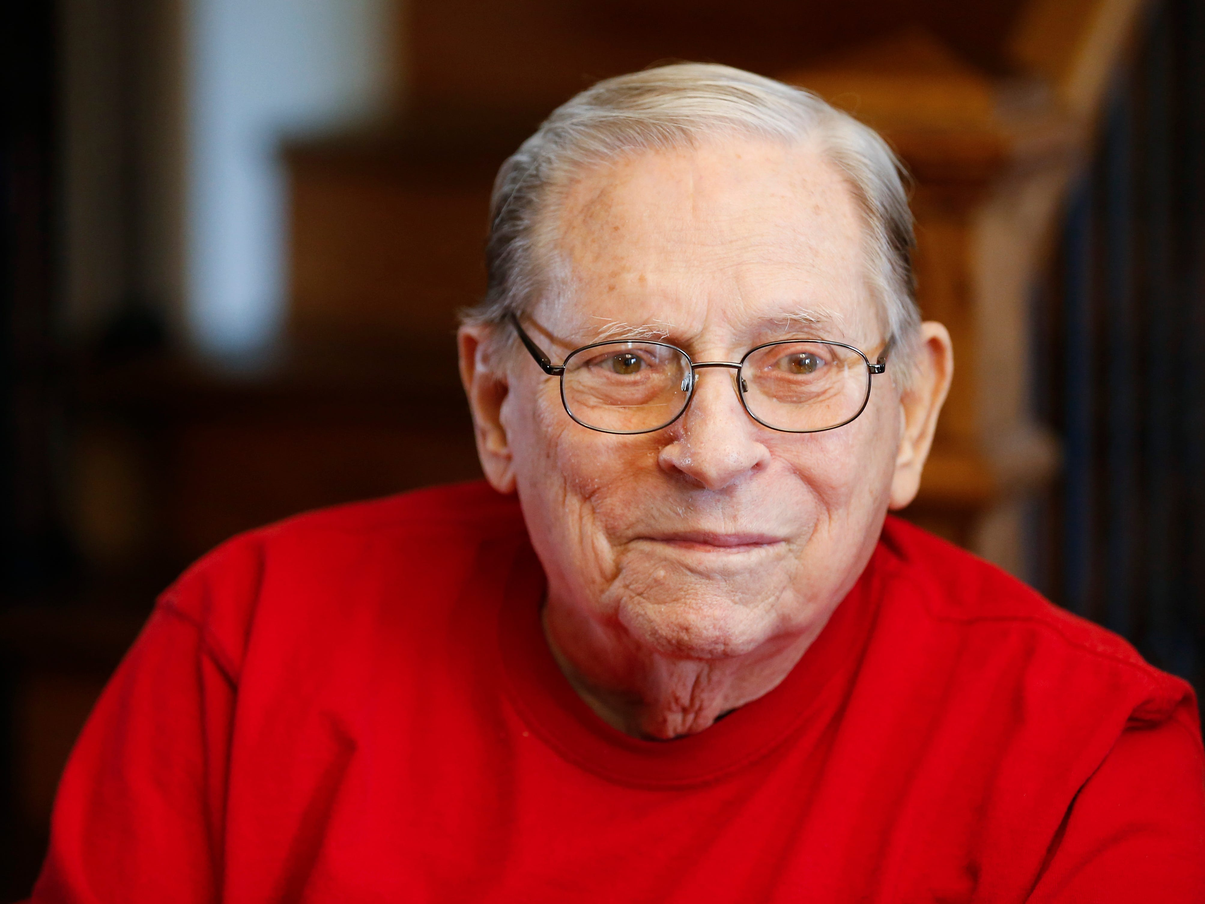 World War II veteran Donald Gundlach, 92.