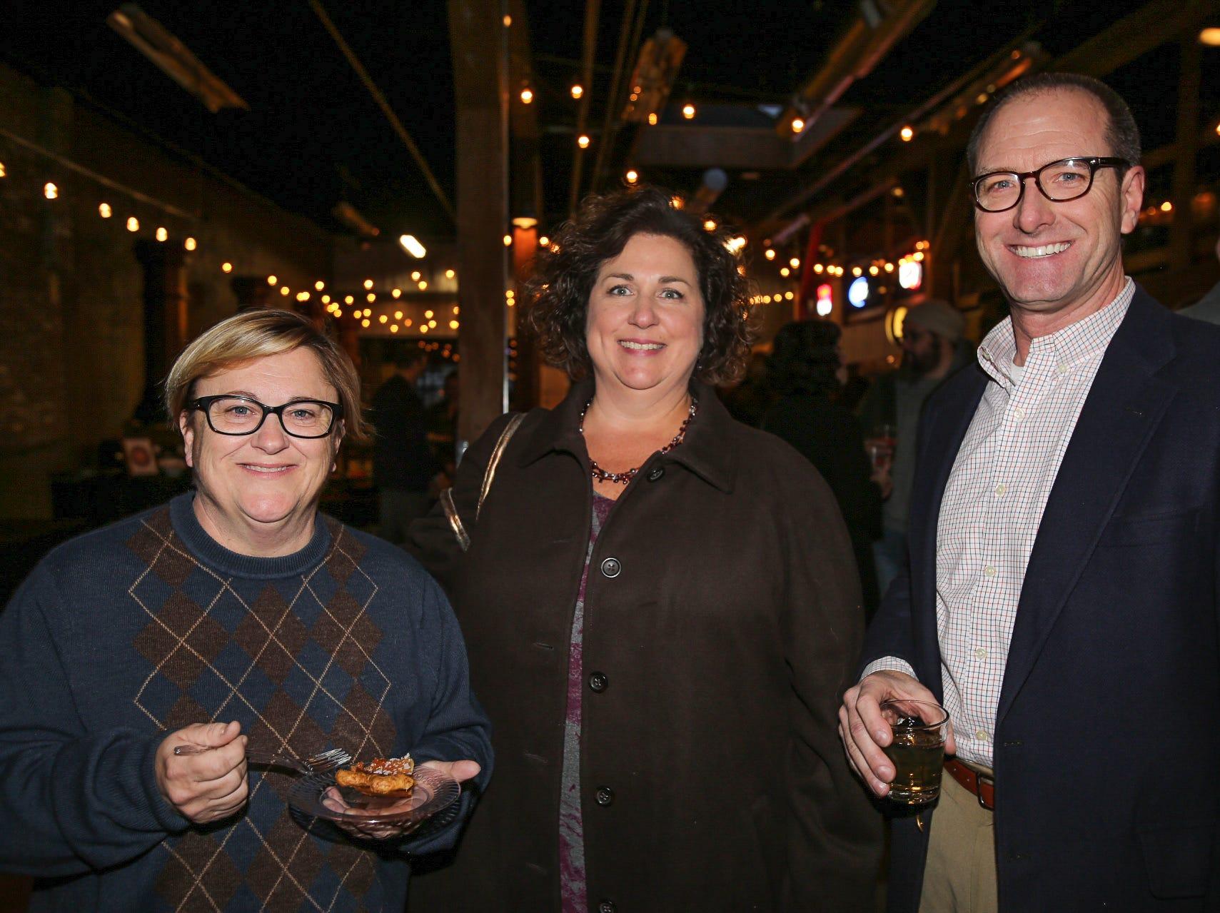 Beth Domann, Jennifer Jackson, and Todd Brierly