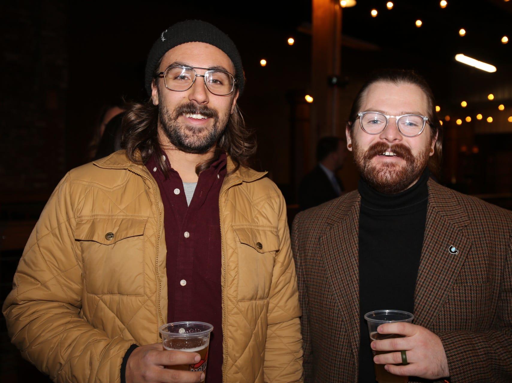 Chris Olson and Austin Elliott