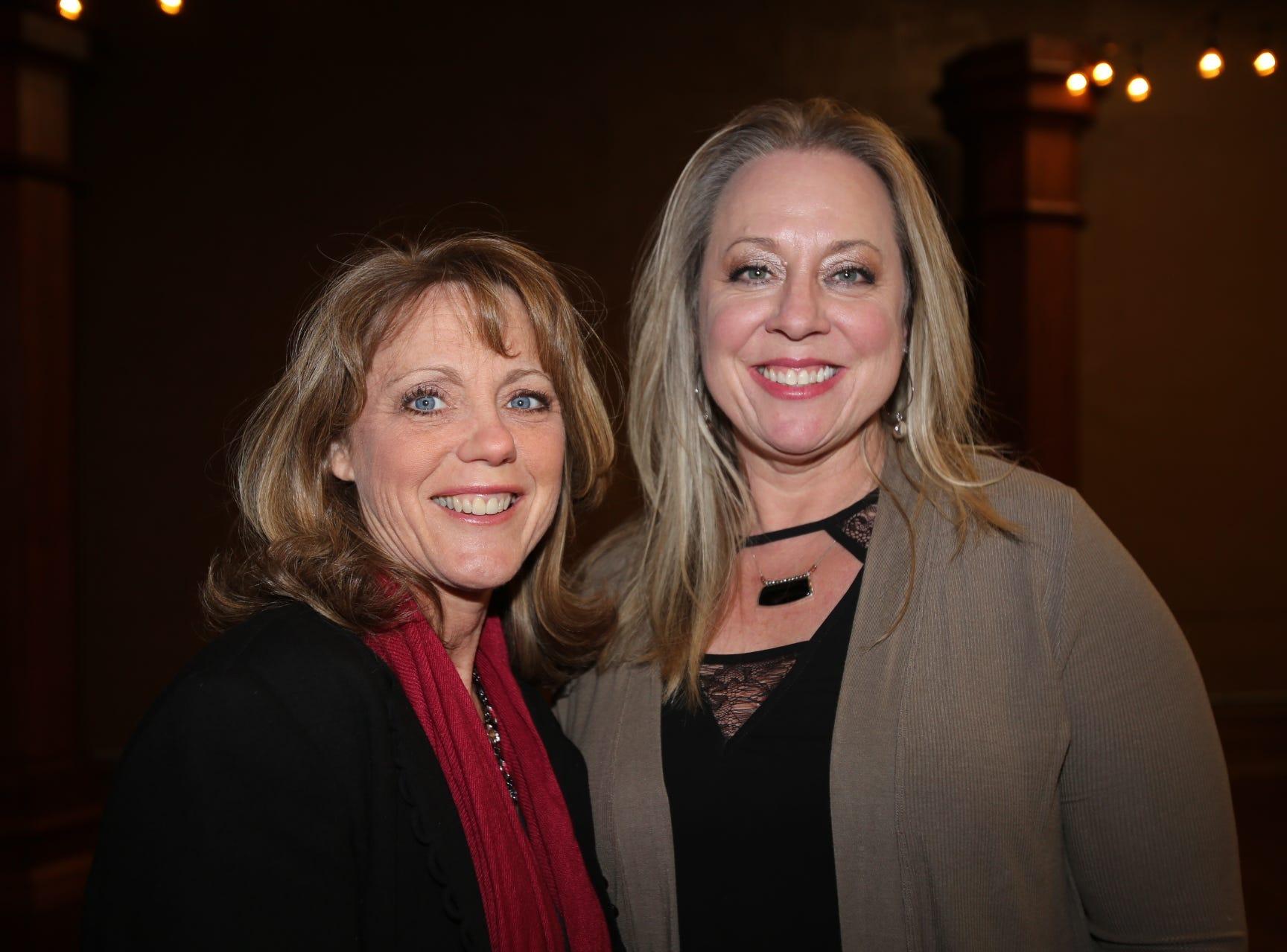 Michelle Garand and Dawn Fitzgerald