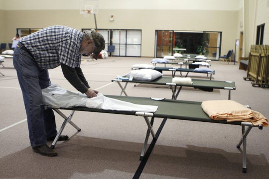 East Sunshine Church of Christ operates an emergency cold weather shelter, shown in this January 2011 file photo.