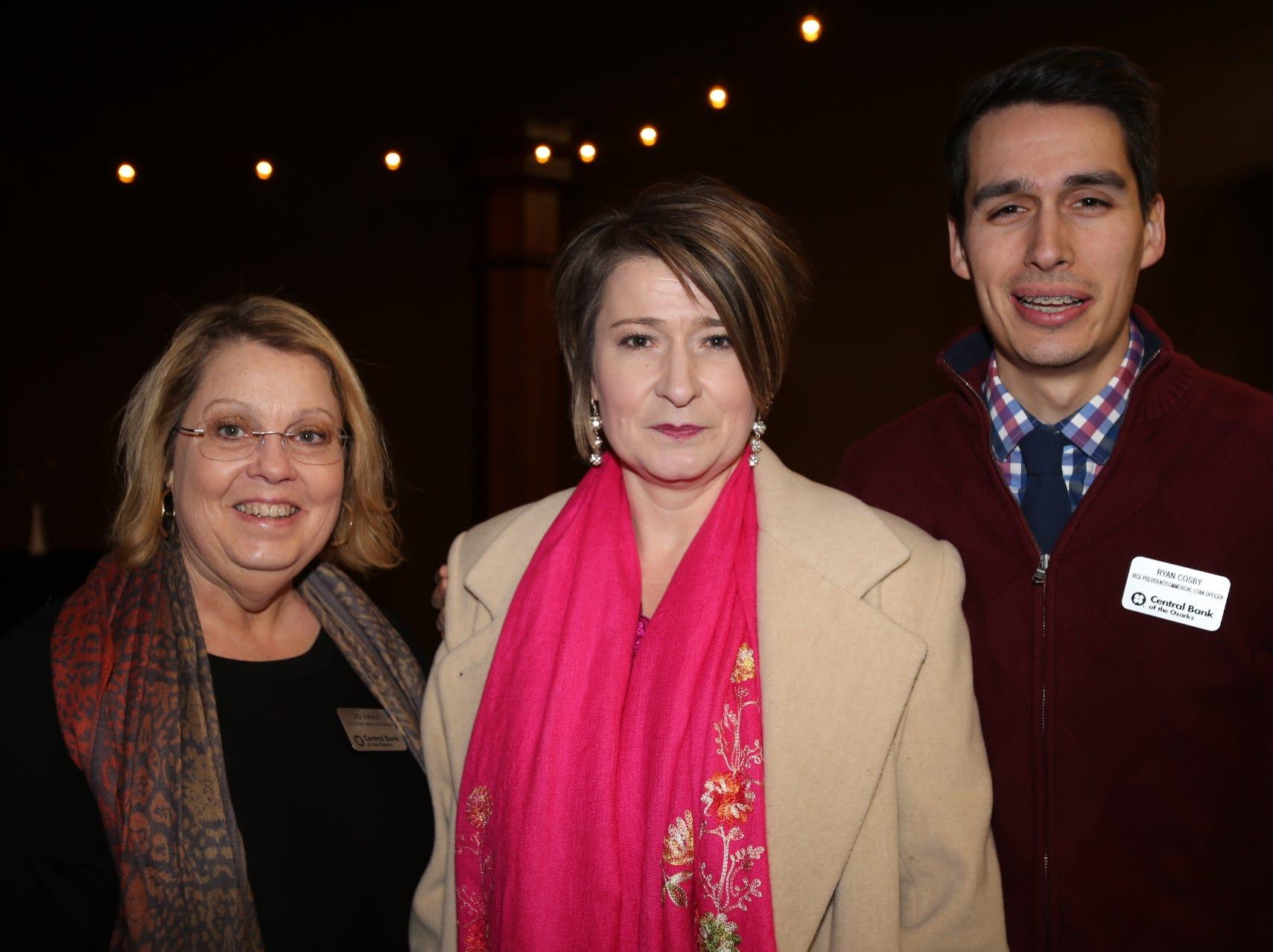 Jo Haas, Kara Turner, and Ryan Cosby