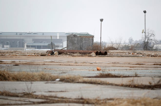 The former Litton Industries plant near the Springfield-Branson National Airport on Friday, Feb. 1, 2019. Trichloroethylene (TCE) from the former plant is a known carcinogen and the Department of Natural Resources has been extracting the chemical since 1994.