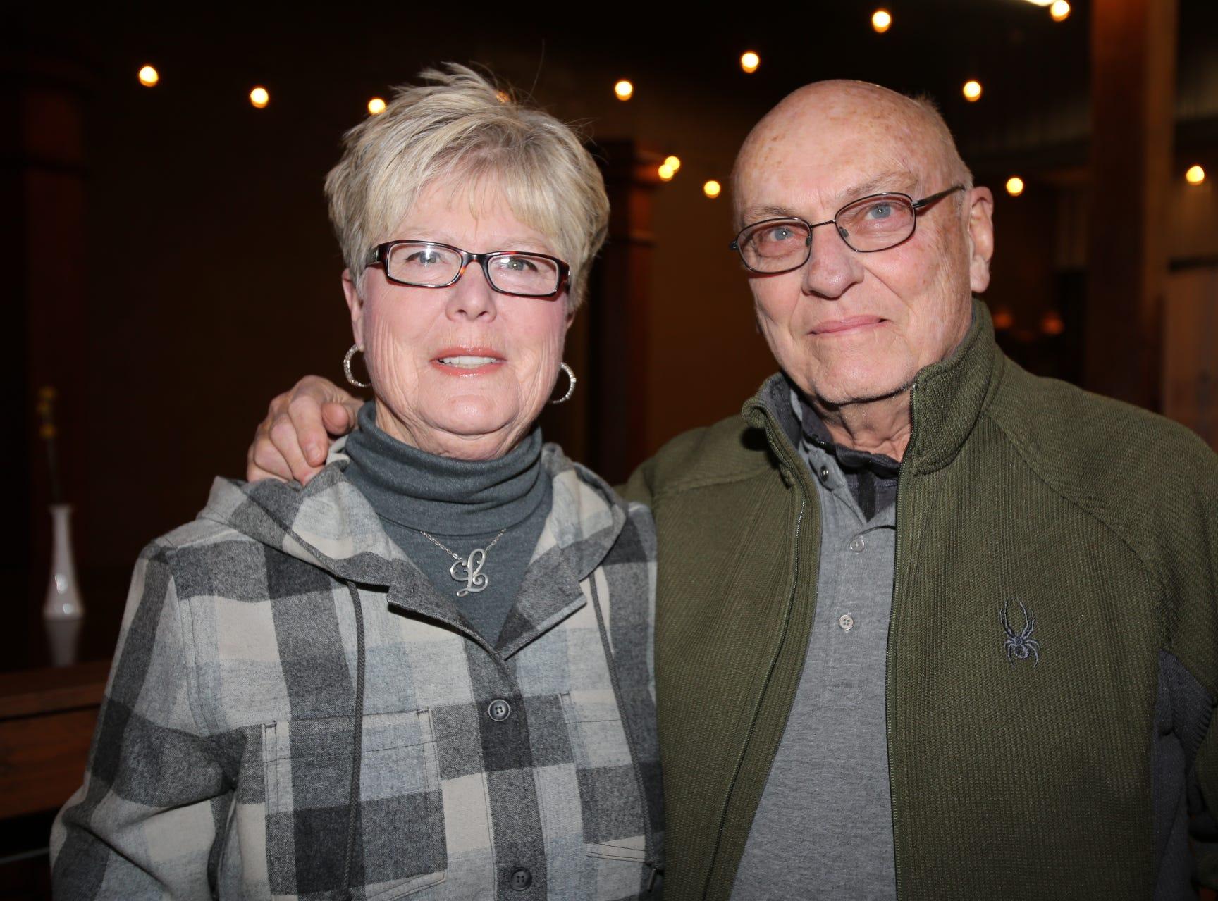 Linda and David Brown