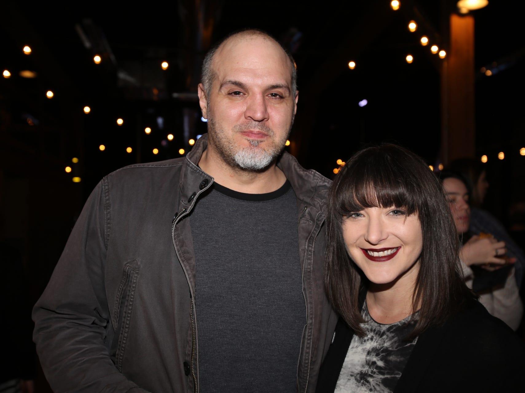 John Tsahiridis and Tessa LeRoy
